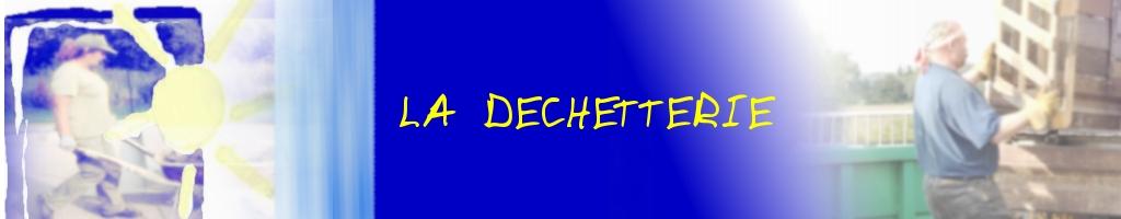 bandeau titre Déchetterie