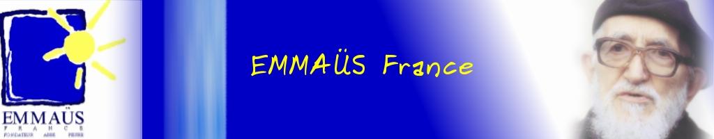 titre bandeau EMMAÜS FRANCE