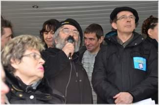 Jean Luc et Le président d'emmaus