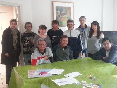 Groupe de résidents