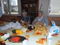 preparation des plats