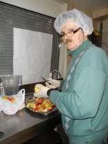 préparations des plats