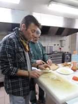 préparation des plats